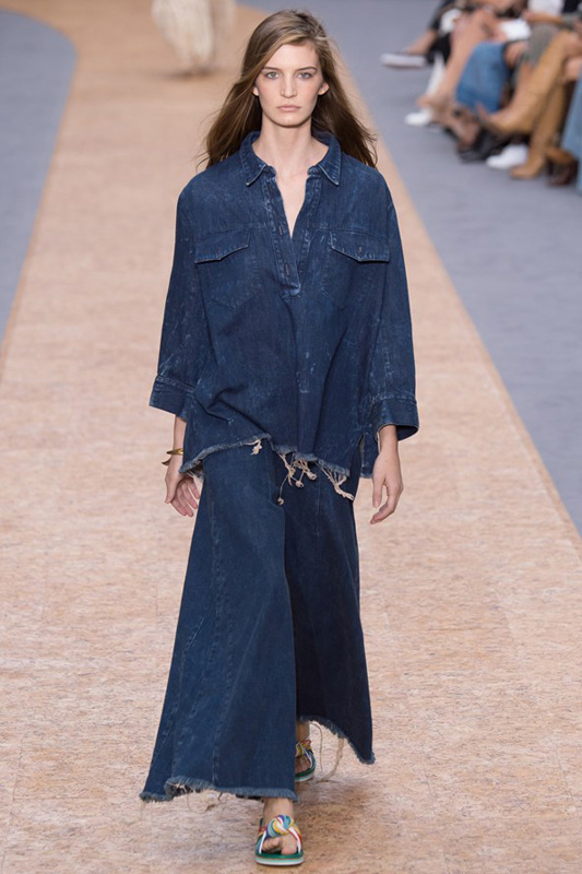 Chloé denim