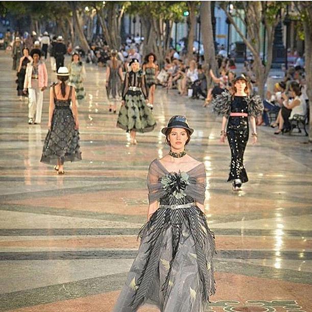 Desfile Chanel Cruise en Cuba