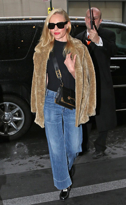 kate bosworth wearing prada cahier bag