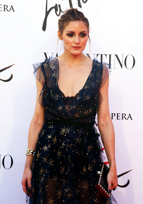 olivia palermo beauty look