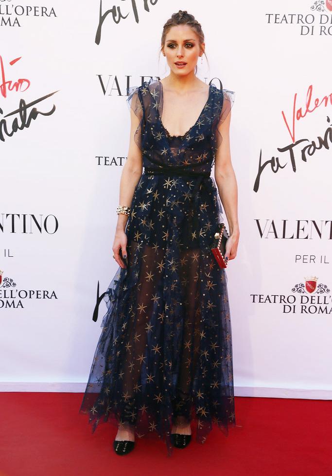 el vestido de olivia palermo en la traviata en roma