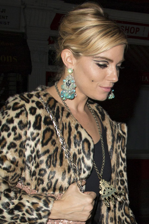 Look beauty de sienna miller