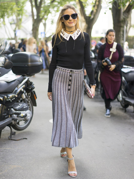 olivia palermo en milan fashion week