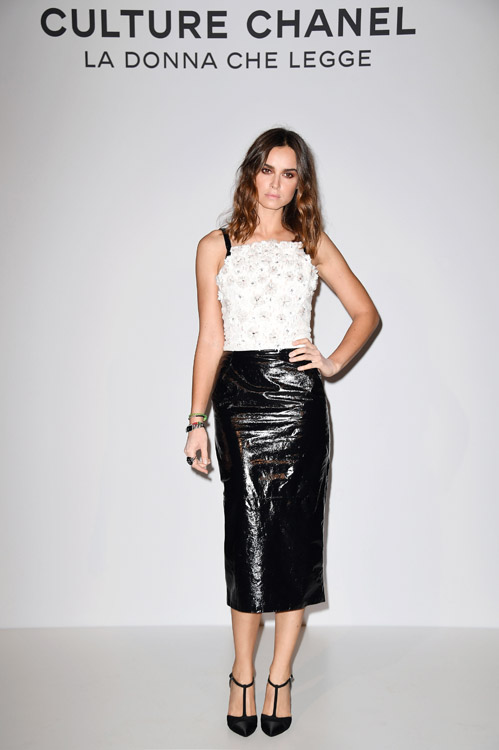 Kasia SMUTNIAK 'Culture CHANEL' Exhibition Opening In Venice - Photocall