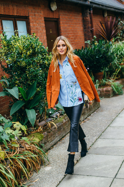olivia palermo looks fashion week london 2016