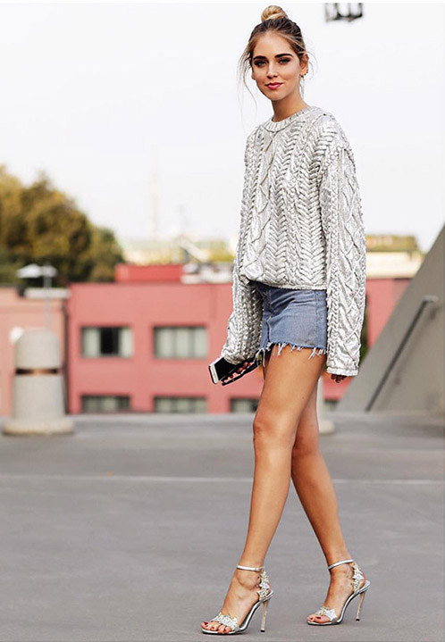 chiara ferragni street style en milan fashion week 2016