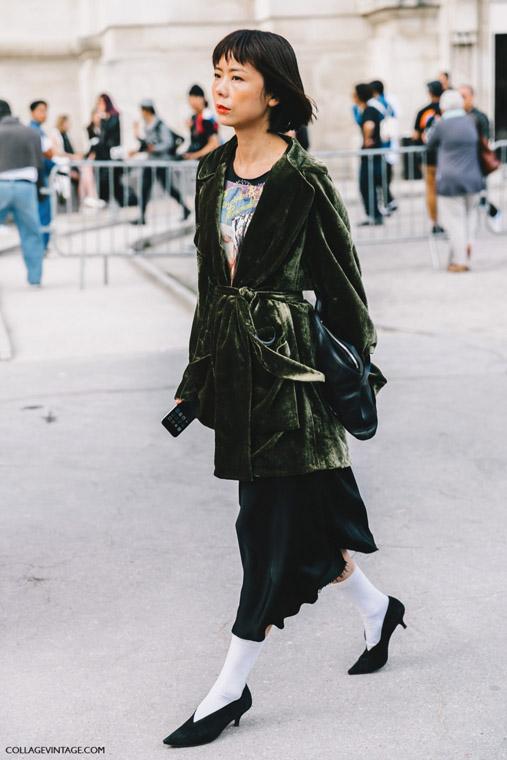 street style paris fashion week septiembre 2016