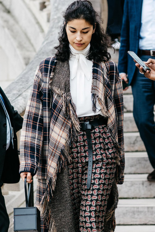 streetstyle paris fashion week verano 2017
