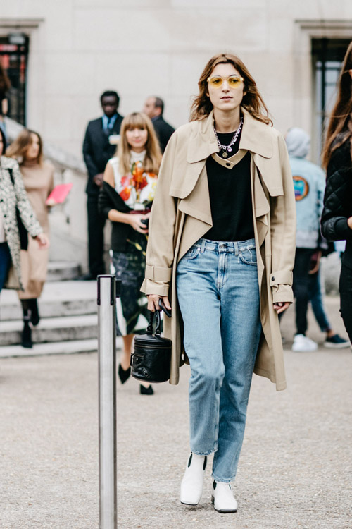 Street Style Desde Paris Fashion Week Study Of Style