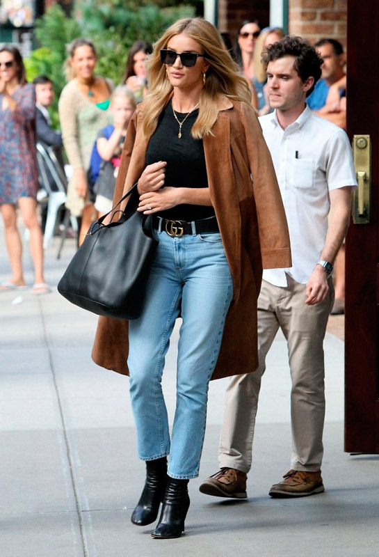 el estilo de rosie huntington whiteley