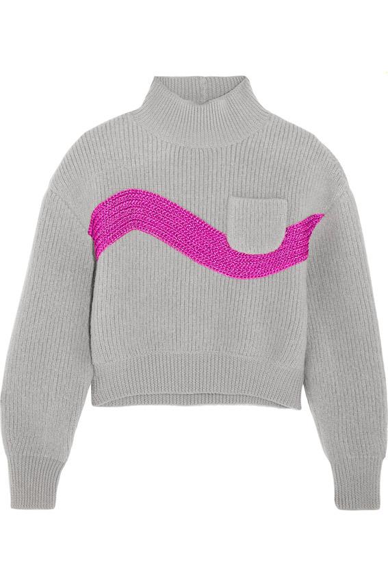 Vika Gazinskaya sweater