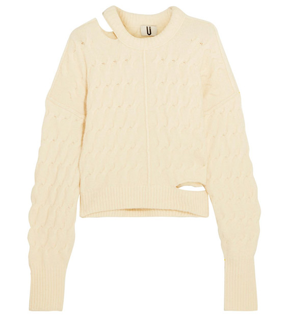 topshop sweater cut out