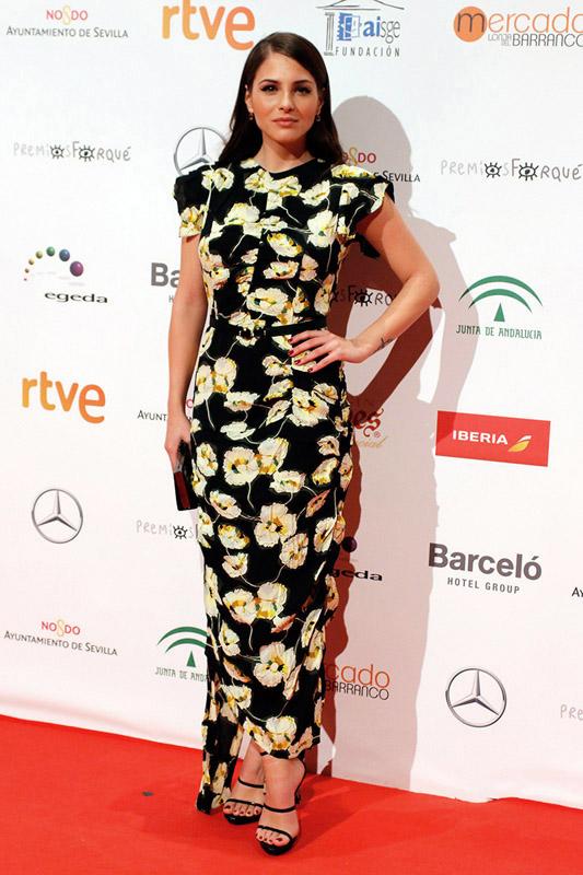 celebrities en los premios José María Forqué