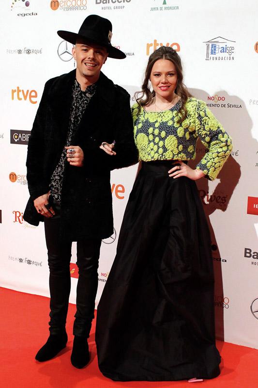 jesse y joy en los premios José María Forqué 2017