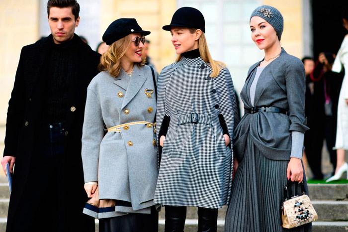 Madonna, Natalia Vodianova and Ulyana Sergeenko street-style-couture-fw2017-paris-tyler-joe-08