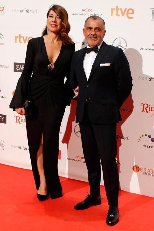 celebrities en los premios José María Forqué 2017