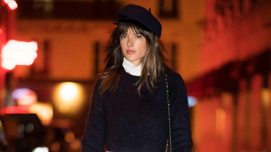 alessandra ambrosio en paris fashion week alta costura