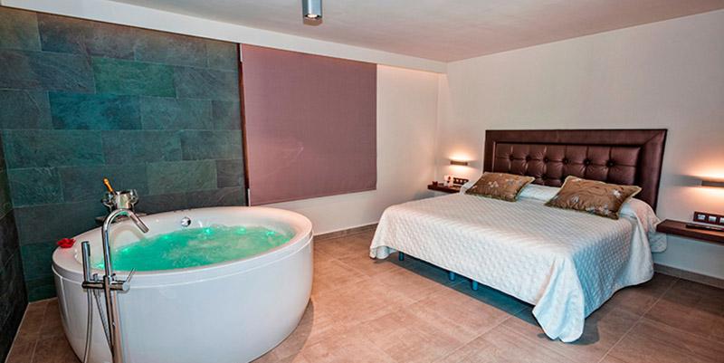 escapadas románticas con spa