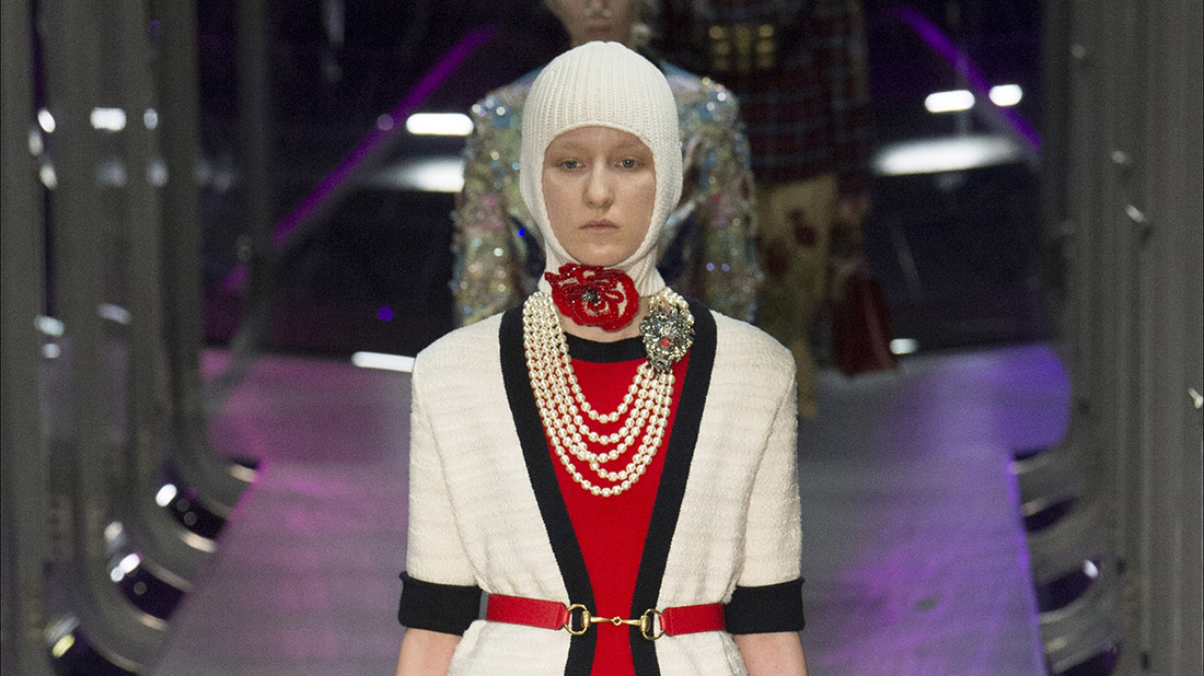 desfile de gucci 2017 en milan fashion week