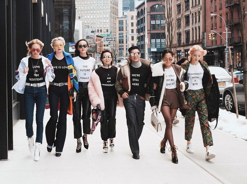 Nueva York Fashion Week febrero 2017