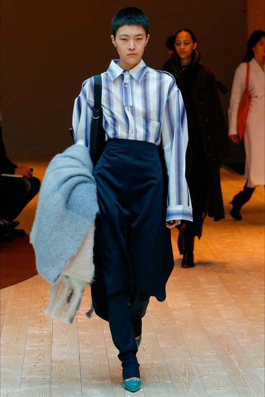 Celine paris fashion week fall/winter, marzo 2017