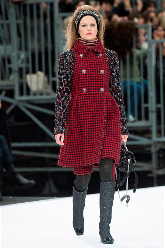 62406010a9ba Chanel colección otoño-invierno 2017-2018 (13) - Study Of Style