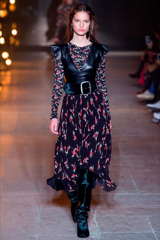 sabel marant en paris fashion week 2017, marzo