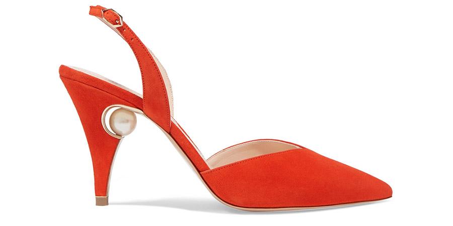 Sandalias con perlas de Nicholas Kirkwood's 'Penelope' pumps