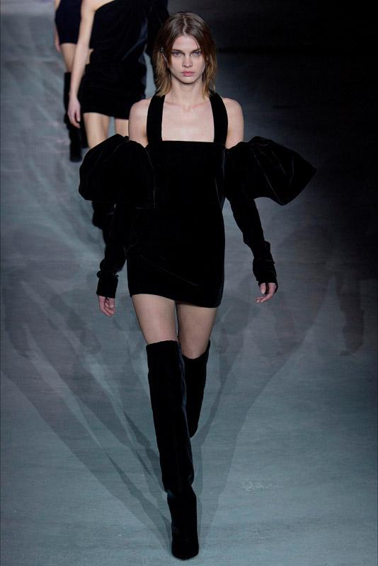 paris fashion week, febrero 2017 saint lauren