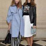 celebrities del desfile de dior en paris fashion week