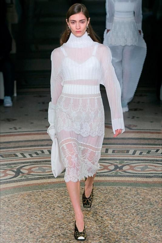 Stella McCartney paris fashion week fall/winter, marzo 2017