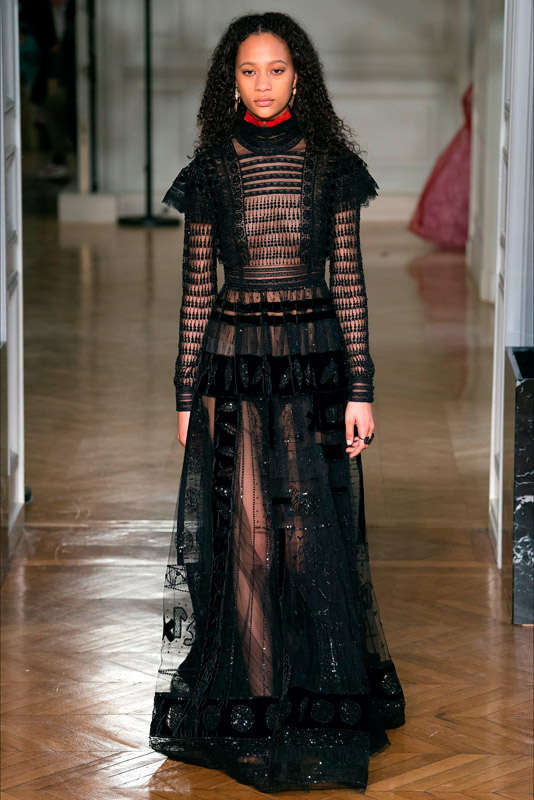 Paris fashion week valentino
