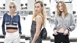 celebrities del desfile de chanel en paris fashion week 2017