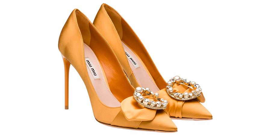zapatos miu miu con perlas