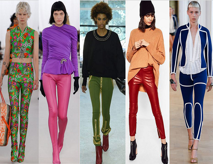 tendencia leggins 2017 louis vuitton, balenciaga, zara
