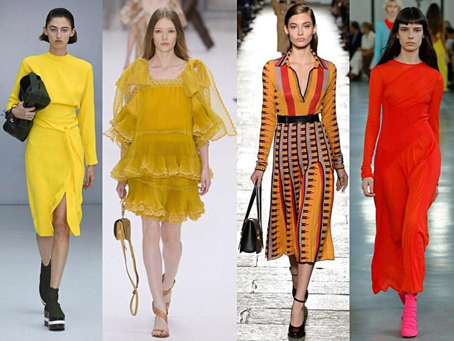 tendencia amarillo primavera-verano 2017