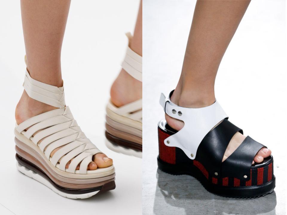 tendencias en calzado primavera/verano 2017