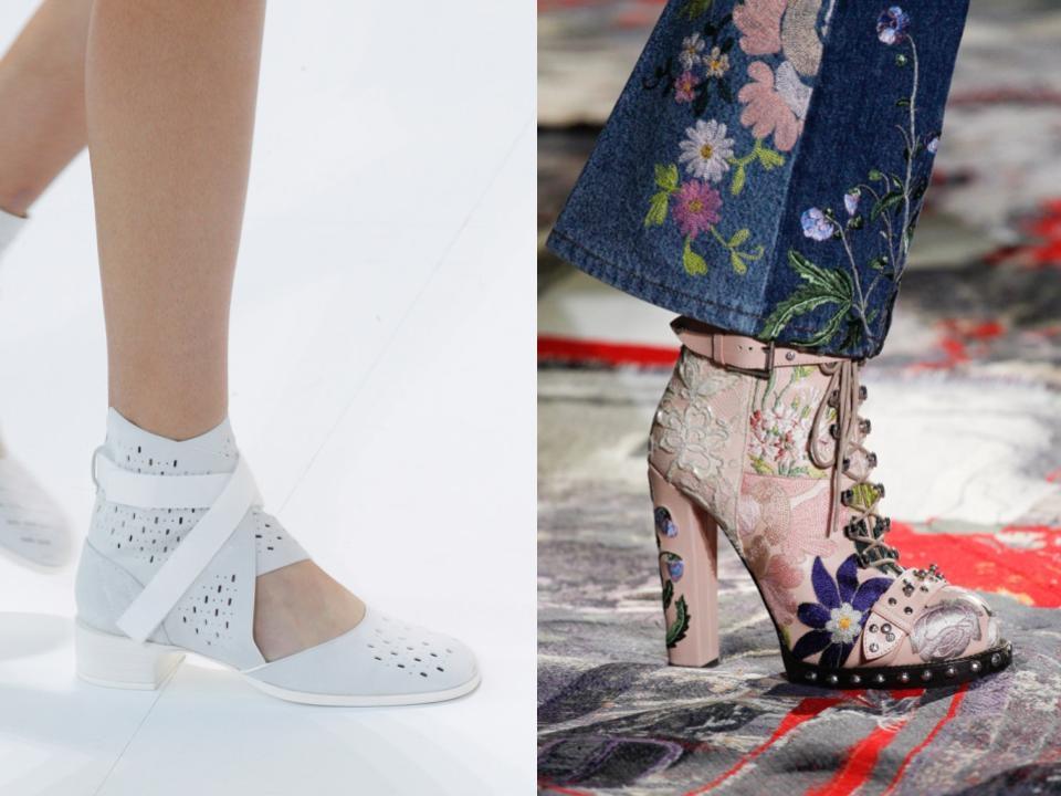 Zapatos abotinados primavera 2017