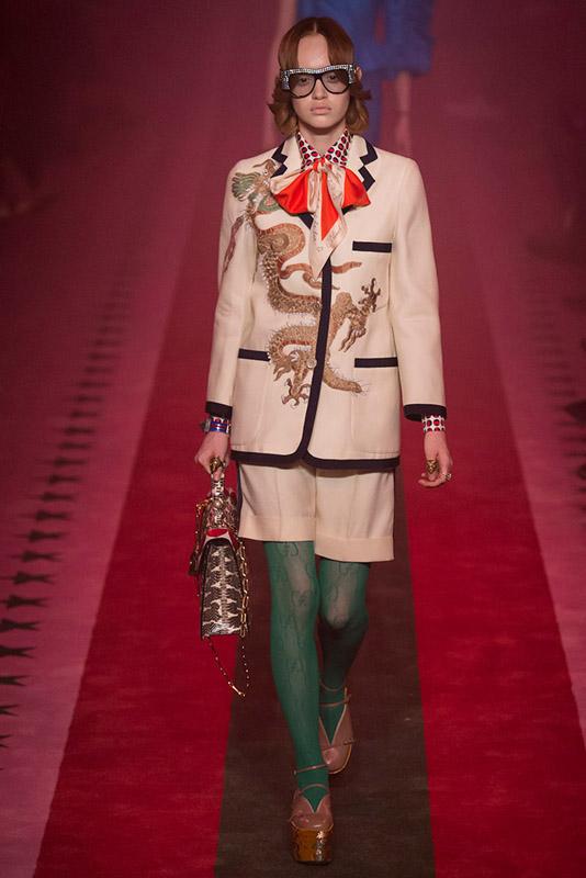Gucci oriental trend - tendencia de oriente