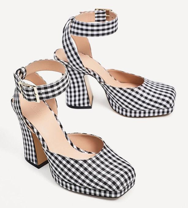 zapatos vichy de zara