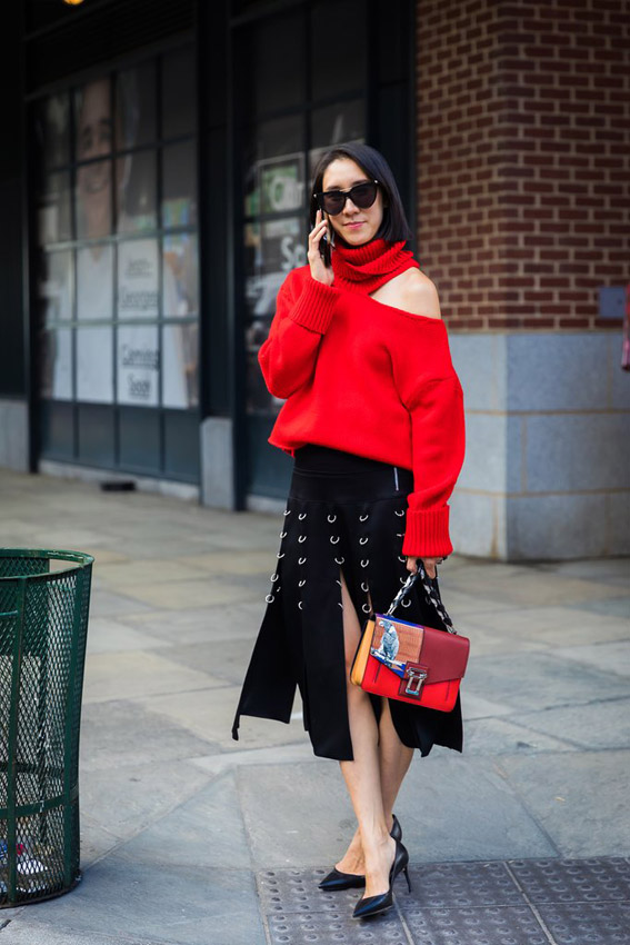 streetstyle nueva york fashion week
