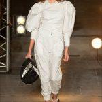 kaia gerber in Isabel Marant ss18 paris fashion week