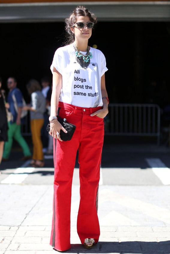 streetstyle nueva york fashion week