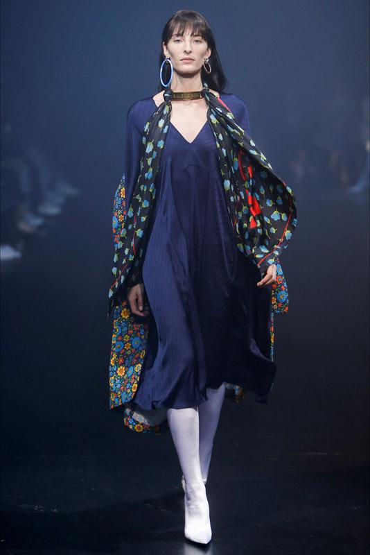 chiara ferragni Balenciaga ss18 paris fashion week