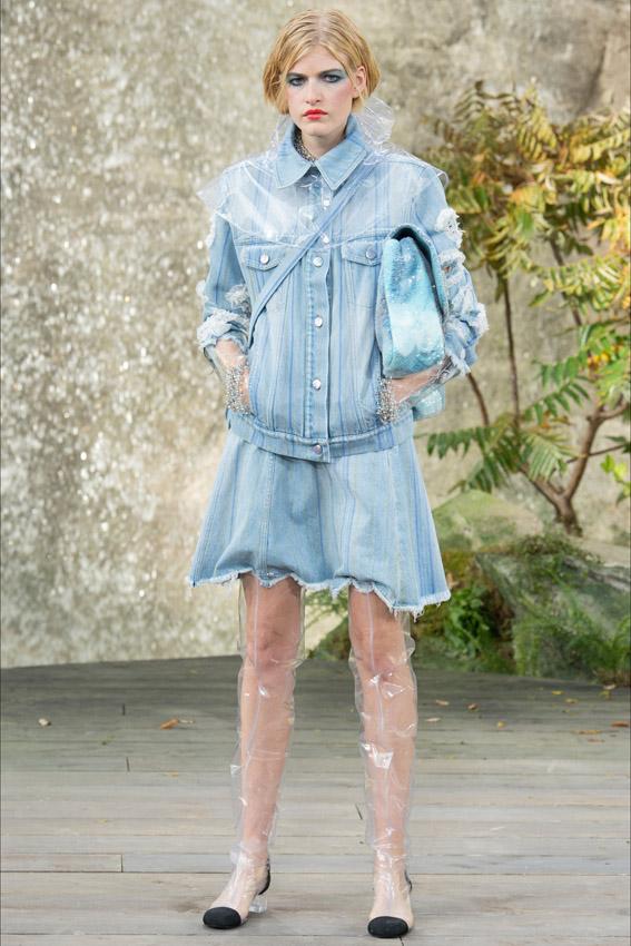 chanel ss18 paris fashion week streetstyle