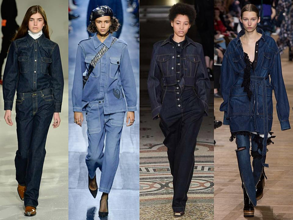 tendencias clave denim trend fw 2017/18