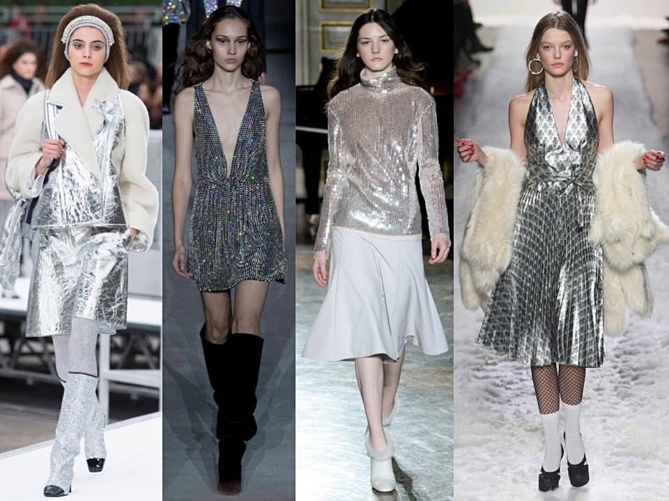 metallic trend fall winter 2018/18