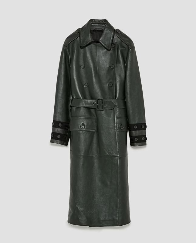 Abrigo de piel de Zara Studio fall/winter 2017