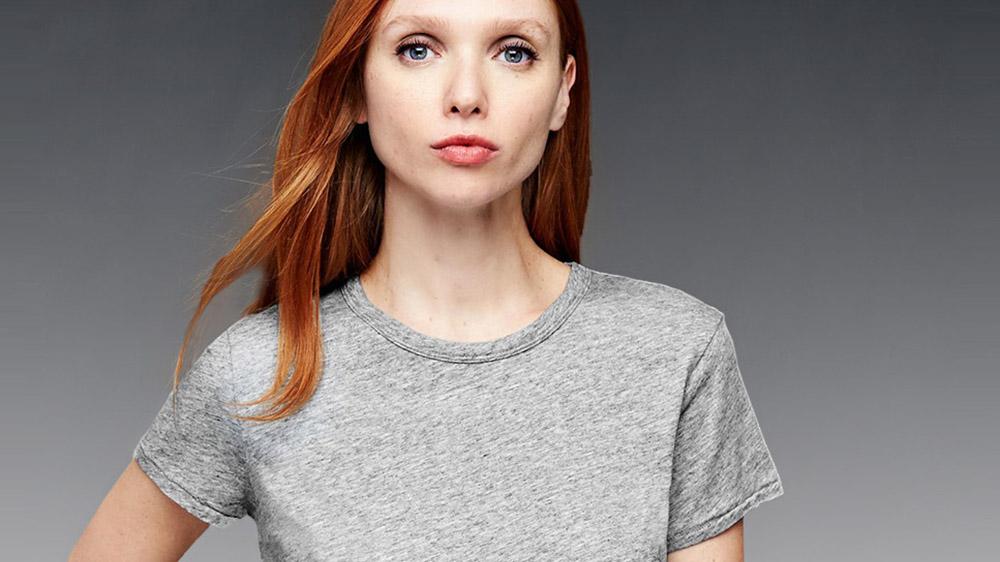 grey t-shirt gap