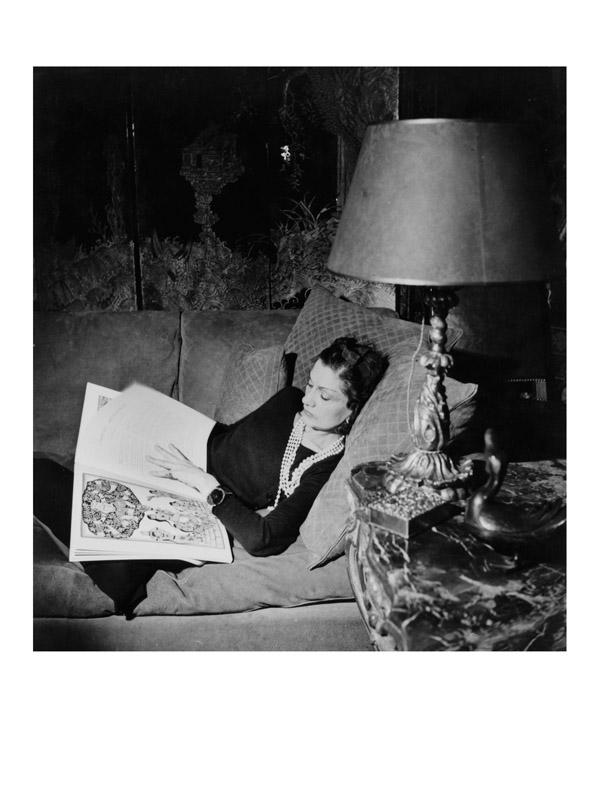 Culture chanel La donna che legge